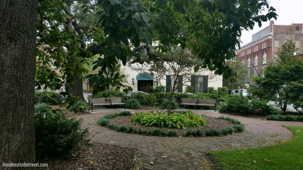 Quiet Square garden