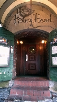 Savannah-Boars Head Doorway