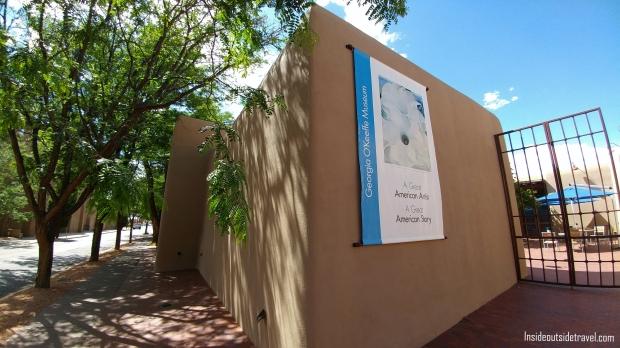 IOT - Santa Fe - Inside - Georgia O'Keefe Museum exterior