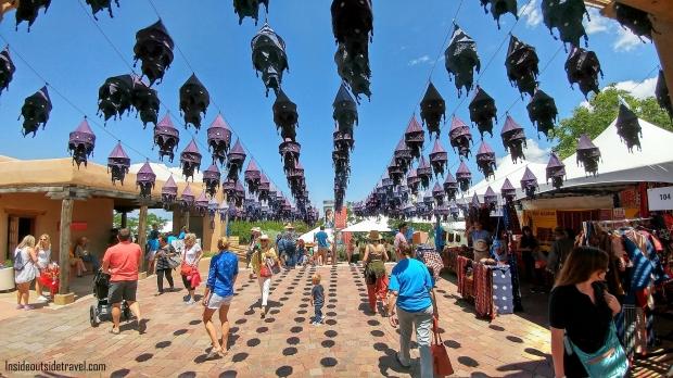 IOT Santa Fe Inside - International Folk Art Market