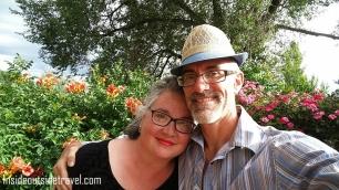Santa Fe Garden Selfie