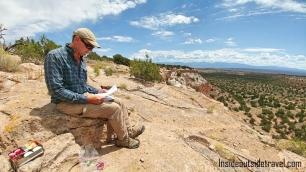 Santa Fe Hike story teller