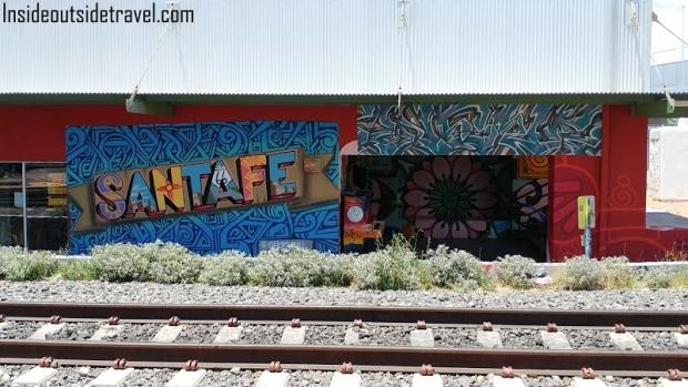 Santa Fe Rail Sign