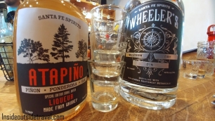Santa Fe Spirits bottles