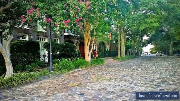 Charleston Cobblestone streets