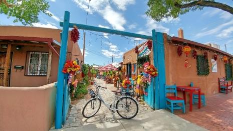 Cycling Old Town Albuquerque