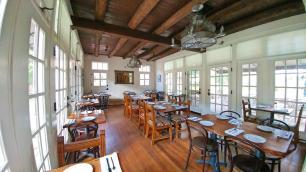 Los Poblanos breakfast room