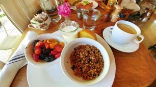 Los Poblanos breakfast