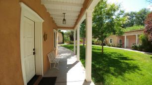 Los Poblanos Casita courtyard