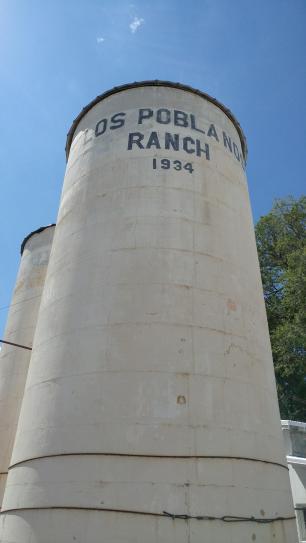 Los Poblanos silos