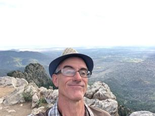Sandia Peak Jimmy selfie